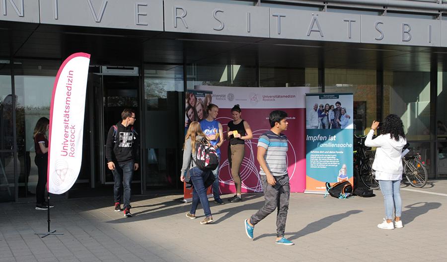 Impfaktion für Studierende in Rostock