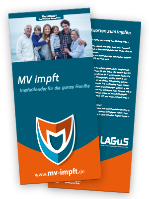 MV impft Informationsflyer
